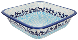 "Deep 11.5"" Square Casserole (Peaceful Season)"
