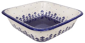 "Deep 11.5"" Square Casserole (Blue Fir)"