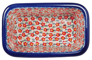 Bread Server (Floral Revival Red)
