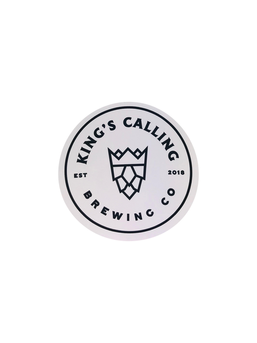 White King's Calling Sticker