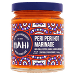 Peri Peri Hot Marinade, MAHI, BBQ, Free From Top 14 Allergens, Marinade, Peri Peri, Suitable For Vegans, Suitable For Vegetarians