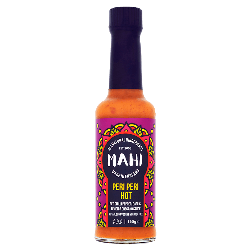 Peri Peri Hot Sauce, MAHI, BBQ, Free From Top 14 Allergens, Hot Sauce, Marinade, Peri Peri, Suitable For Vegans, Suitable For Vegetarians