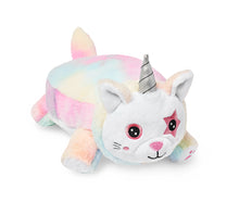 Load image into Gallery viewer, Unikitty Snuggle Glove travel pillow for kids front right view