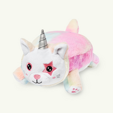 Load image into Gallery viewer, Unikitty Snuggle Glove travel pillow for kids front left view