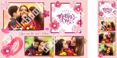 Mothers's Day Pink Template