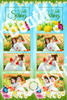 Spring Flower Template