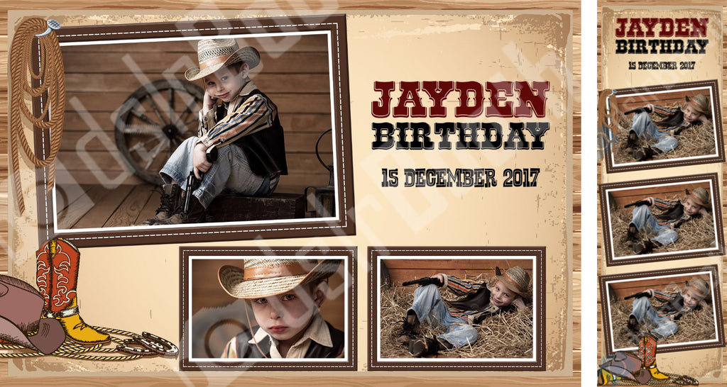 Children's Western Birthday