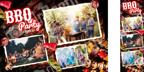 Birthday Bbq Template
