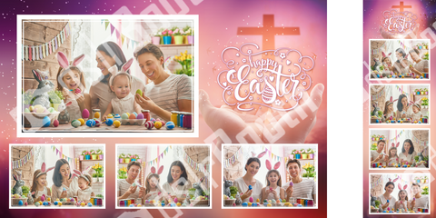Religious Easter Template
