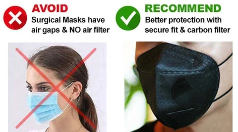 Anti virus KN95 mask 10