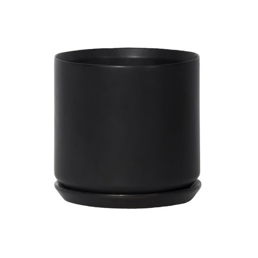 Large Oslo Planter - Black