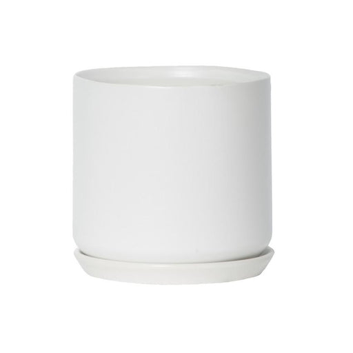 Large Oslo Planter - White