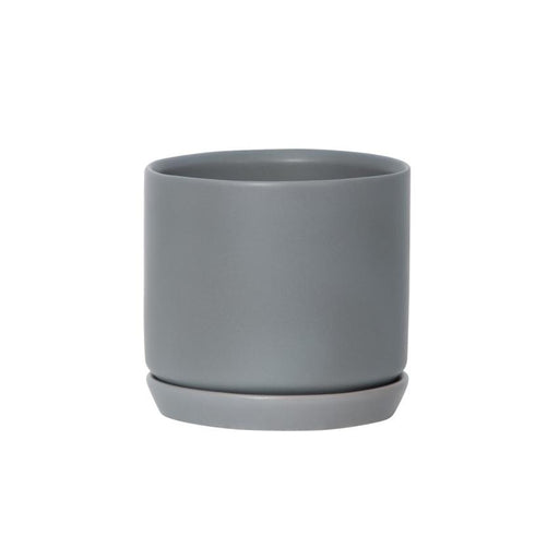 Medium Oslo Planter - Grey
