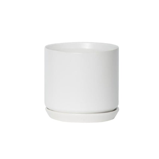 Medium Oslo Planter - White