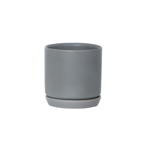 Small Oslo Planter - Grey