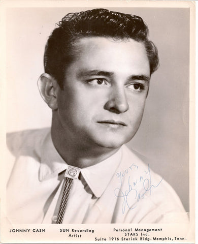 "Il cantante Johnny Cash di Sun Records- < a rel = ""nofollow"" class = ""external free"" href="""