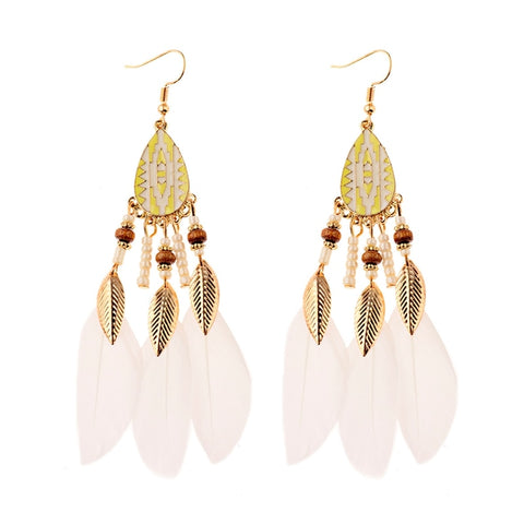 Boucles d'oreilles Western Wild Feather | Western-Avenue