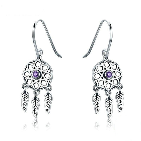 Boucles d'oreilles Western Mini Dreamcatchers | Western-Avenue