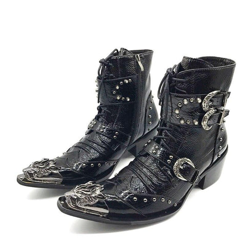 Bottines de Cowboy Wild West | Western-Avenue