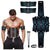 Sports Entertainment Vibration Belt Machine Ab Trainer EMS Abdominal Muscle Stimulator Toner