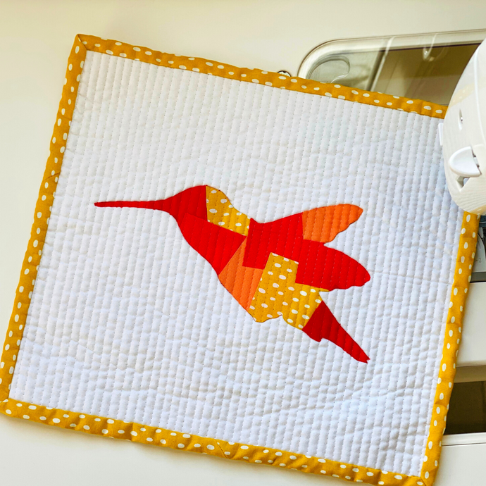 Humming into Scrappy Applique