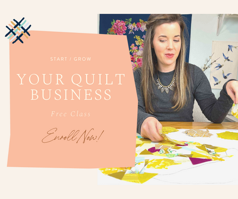 Shannon Brinkley - Start or Grow your quilt business
