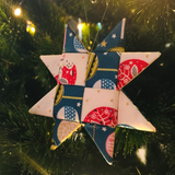 Scrap buster Fabric Christmas Decorations