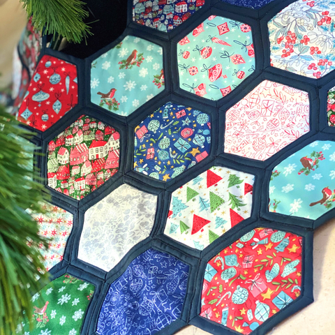 Easy Christmas Tree Skirt