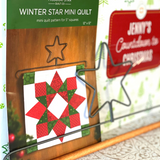 Winter Star Wall Decor Project