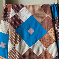 Mint Patch Quilt made by Julie @juliesewhappy