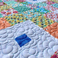 Mint Patch Quilt by Bronwyn @moderntraditionz
