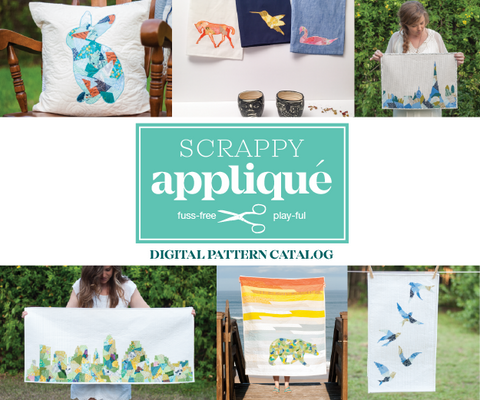 Scrappy Appliqué PDF Patterns