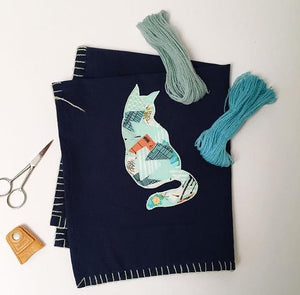 Scrappy Appliqué Workshop via Zoom - April 24th, Saturday (Time zones - AUS/NZ/IND/UAE)