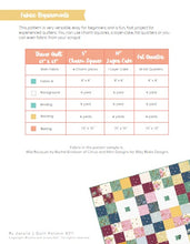 Load image into Gallery viewer, Mint Patch Quilt Pattern - Automatic PDF download