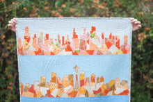 Load image into Gallery viewer, US Skylines Scrappy Appliqué Paper Pattern