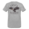 Spider Lake Eagle Flights T-Shirt - heather gray