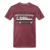 Come Paddle on Spider Lake Vintage T-Shirt - heather burgundy