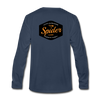 Spider Lake Majestic Musky Long Sleeve T-Shirt - navy
