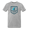 Spider Lake Beach Club T-Shirt - heather gray