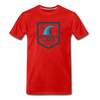 Spider Lake Beach Club T-Shirt - red