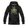 Spider Lake 54843 Airport Code Women's Hoodie - charcoal gray
