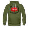 Original Northwoods Spider Lake Hoodie - olive green