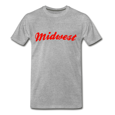 Midwest T-Shirt - heather gray