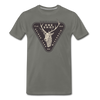 Hunters Special Spider Lake Wisconsin T-Shirt - asphalt gray