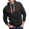 Man Wearing Midwest Hoodie Sweatshirt Black