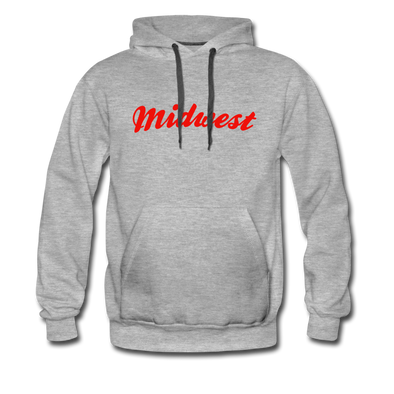Midwest Hoodie - heather gray