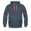 Midwest Hoodie - heather denim