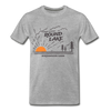 Round Lake Northwoods Oasis Premium T-Shirt - heather gray