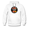 Round Lake Edge of Wilderness Premium Hoodie - white