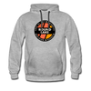 Round Lake Edge of Wilderness Premium Hoodie - heather gray